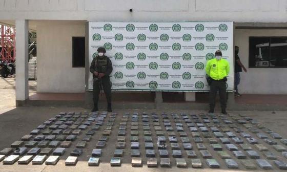 Incautan 200 kilos de cocaína en la Alta Guajira