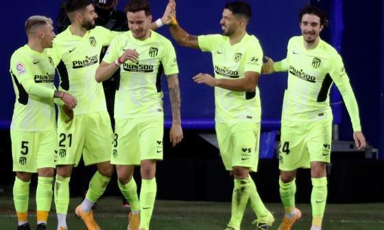 El Atlético de Madrid venció por 2-1 al Eibar.