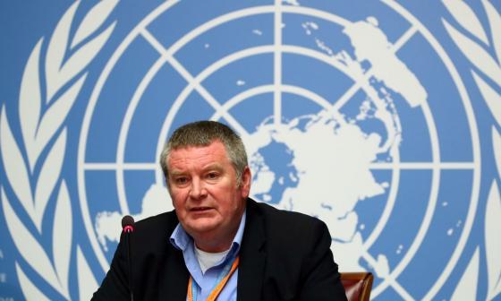 Mike Ryan, director de Emergencias Sanitarias de la OMS.