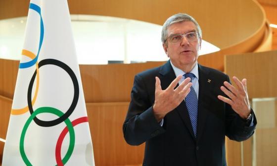 Thomas Bach, presidente del Comité Olímpico Internacional.