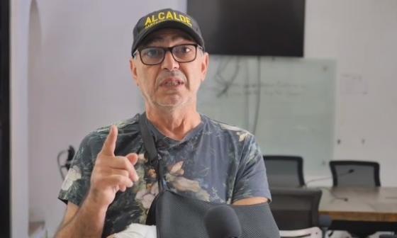 El alcalde William Dau en el mensaje que le envió a Convial, empresa concesionaria de los peajes internos de Cartagena.