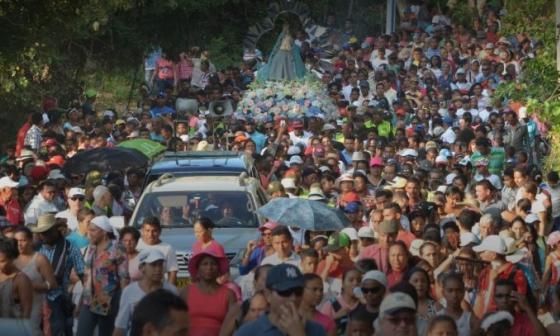 La tradicional peregrinación al Cerro de La Popa quedó prohibida. La novena a la Virgen será virtual.