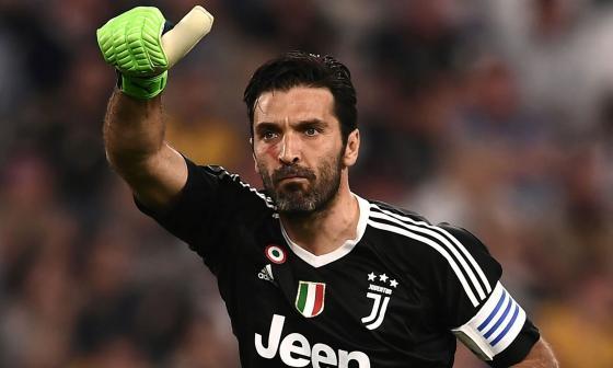 Gianluigi Buffon, leyenda viva de la Juventus de Turín y la selección italiana.