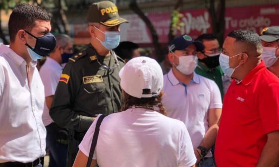 Fortalecerán seguridad en el Centro de Barranquilla
