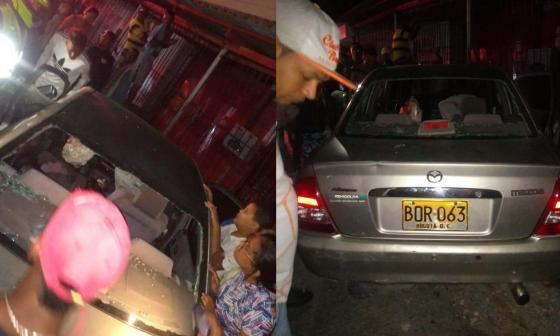 Iba en su carro, sicarios lo persiguen y lo asesinan a balazos en San Martín