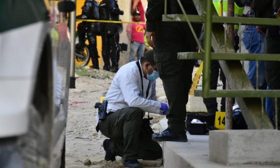 Balacera en Nuevo Horizonte: un muerto y tres heridos