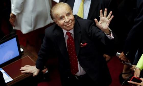 Fallece el expresidente argentino Carlos Menem