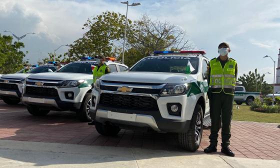 Policía recibe 29 patrullas para fortalecer seguridad en Atlántico
