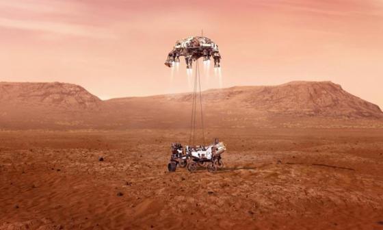 Tras siete meses de viaje, Perseverance llega este jueves a Marte