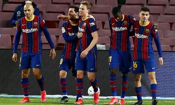 Barcelona venció por 3-0 al Elche.