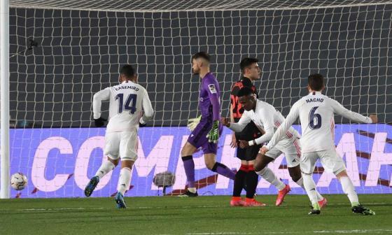 Vinicius salva un punto para el Real Madrid