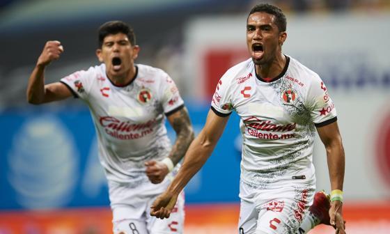 El atlanticense Mauro Manotas logra empate para el Tijuana ante el Monterrey