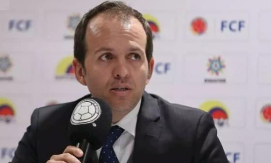 Ernesto Lucena, Ministro de Deportes de Colombia.