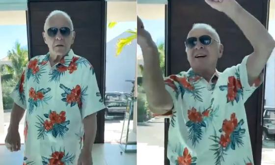 "Anthony Hopkins baila merengue y dice ""soy colombiano"""