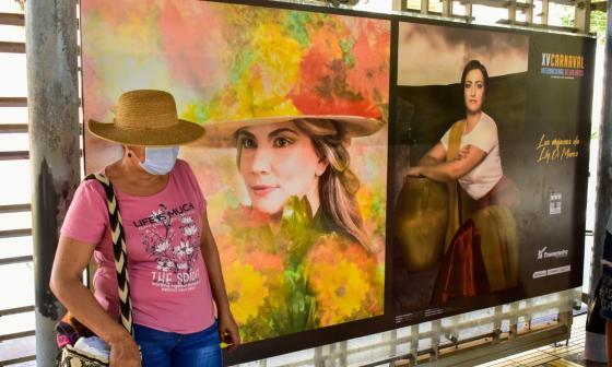 Galerías urbanas embarcan al público en el Carnaval de las Artes