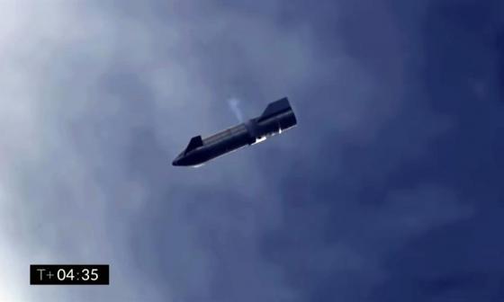 La nave Starship de SpaceX aterriza con éxito, pero vuelve a explotar