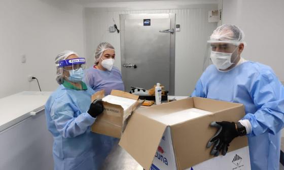 Continúan llegando vacunas a Barranquilla