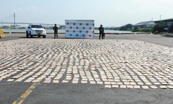 Policía ha hecho 5 incautaciones de cocaína en el Puerto