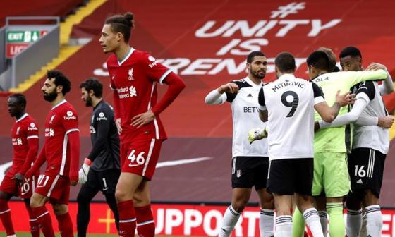 Liverpool ya tiene seis derrotas consecutivas en casa