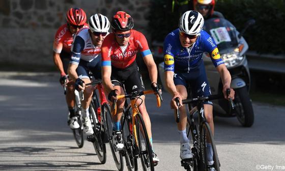 Nairo Quintana terminó cuarto en el GP Industria & Artigianato