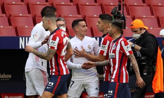 """Dardo del Atlético al Real Madrid: """"critican hasta los aciertos"""""""