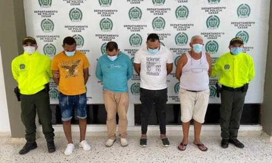 Capturan a señalados de proveer armas a grupos criminales del país