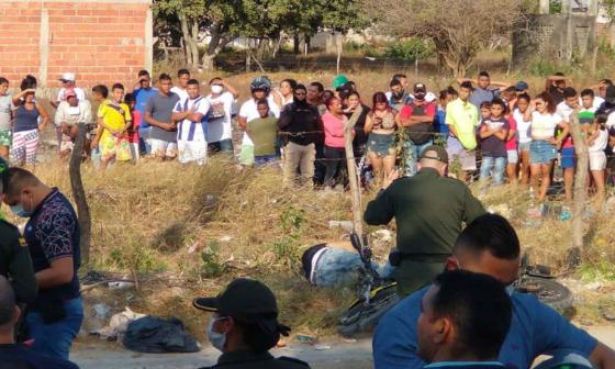 A balazos asesinan a motociclista en Villa María, Soledad