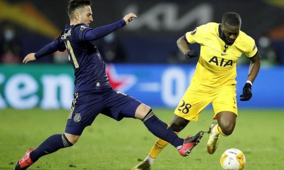 Fracaso del Tottenham en Zagreb