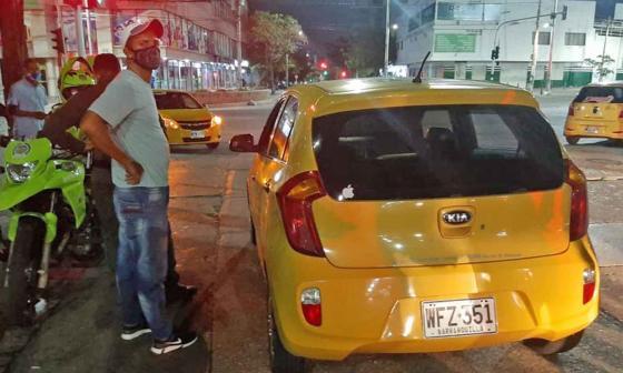 Estos son los capturados por crimen de taxista en el norte de Barranquilla