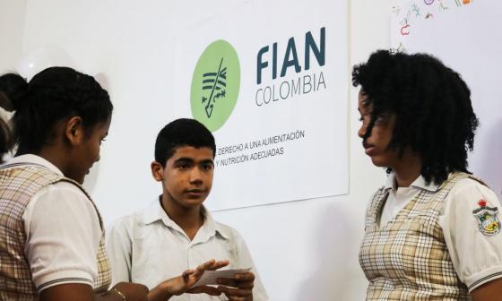 Germinando semillas en las escuelas de Cartagena de Indias