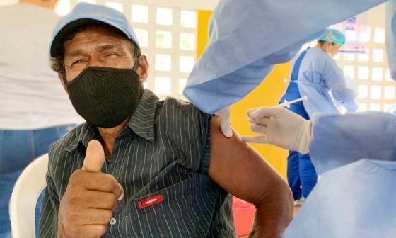 Montería reporta avance en la aplicación de la vacuna