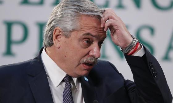 Presidente de Argentina, positivo para covid tras haber completado vacunación