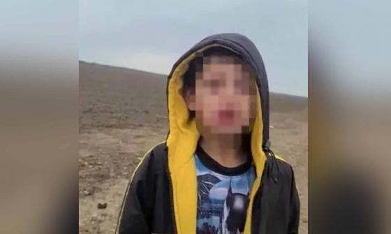 El dramático video de niño migrante abandonado en la frontera de EE. UU.