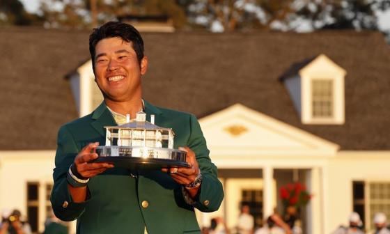 El ganador del Masters de Augusta es el japonés Hideki Matsuyama