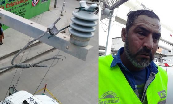 Agreden a operario de Air-e en el barrio El Pueblito