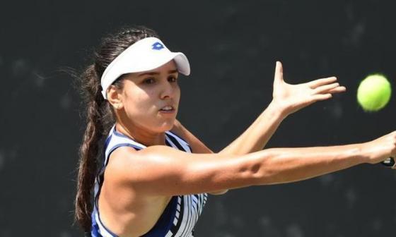 María Camila Osorio alcanza las semifinales