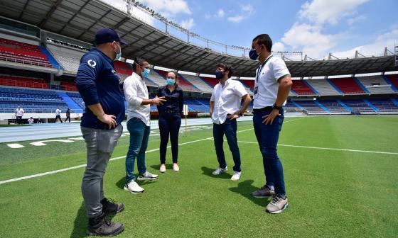 Obras del Metropolitano avanzan para la Copa América 2021