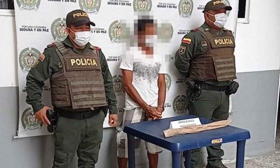 Hombre ataca a machete a una perra en Córdoba