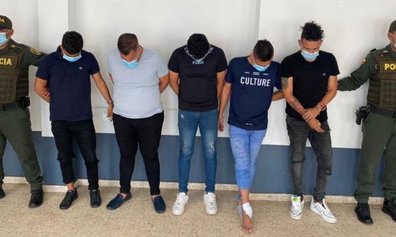 Capturados cinco hombres por atacar casa de periodista en Baranoa