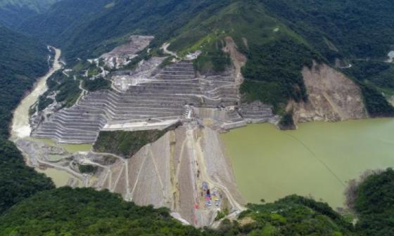Consorcio CCC Ituango sobre embargo de cuenta de Contraloría General