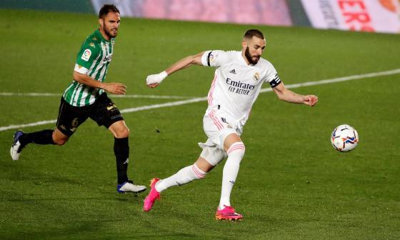 Real Madrid igualó 0-0 ante el Betis