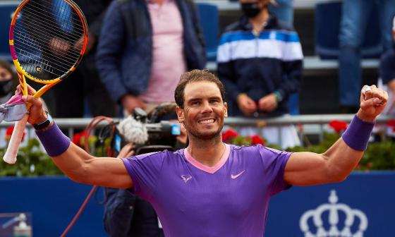 Rafael Nadal jugará la final ante Tsitsipas