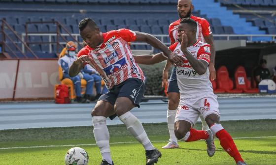 Junior vs Santa Fe: partido de ida cuartos de final Liga colombiana