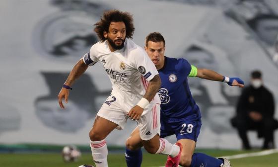 Marcelo dice que el próximo partido ante el Chelsea será diferente