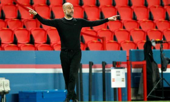 Pep Guardiola, PSG vs. Manchester City