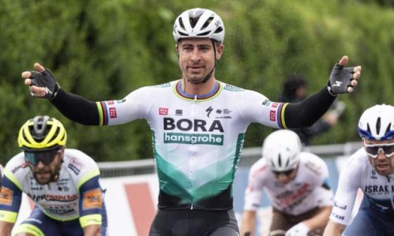 Peter Sagan ganó la primera etapa del Tour de Romandía