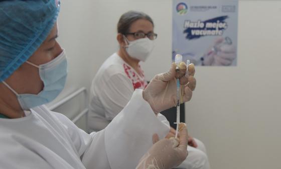 Llegaron 27.000 vacunas más al Cesar