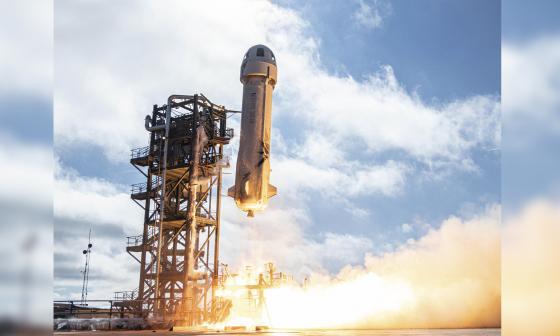 Ahora es posible comprar un tiquete para viajar al espacio en el Blue Origin