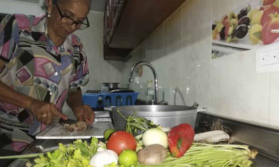 Ingenio guajiro para cocinar en pandemia
