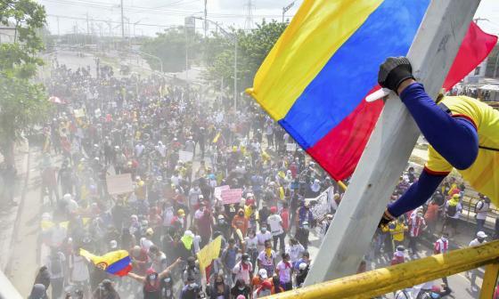Barranquilla respeta la movilización pacífica